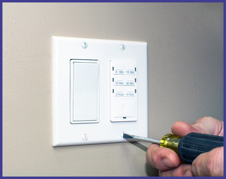 Dimmer switch installation