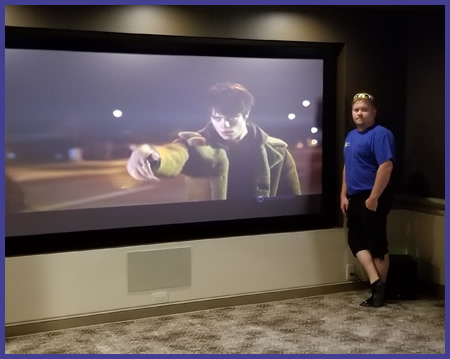 Pittsburgh home theater installation